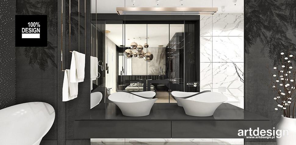 aranżacja łazienki przy sypialni