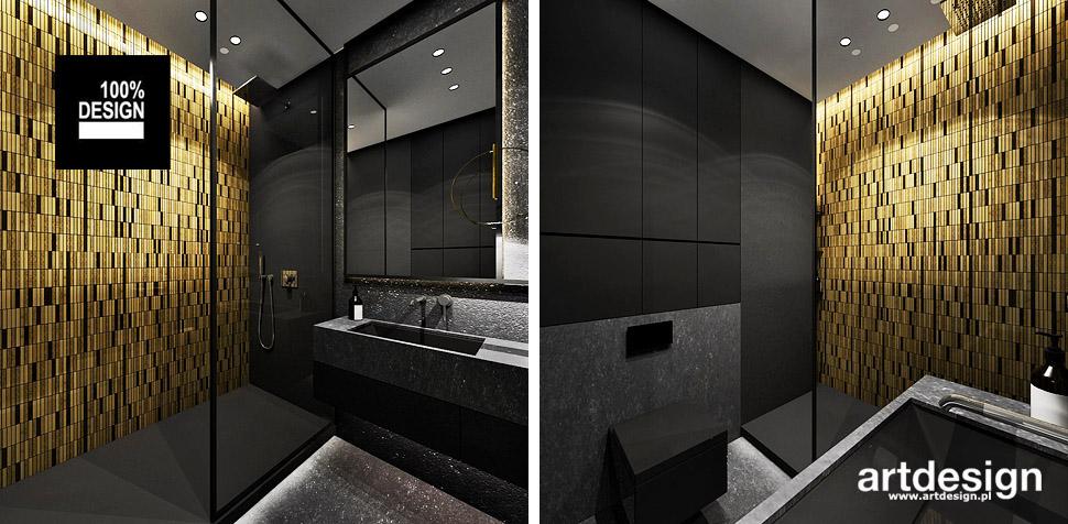 projekty łazienka aranżacje