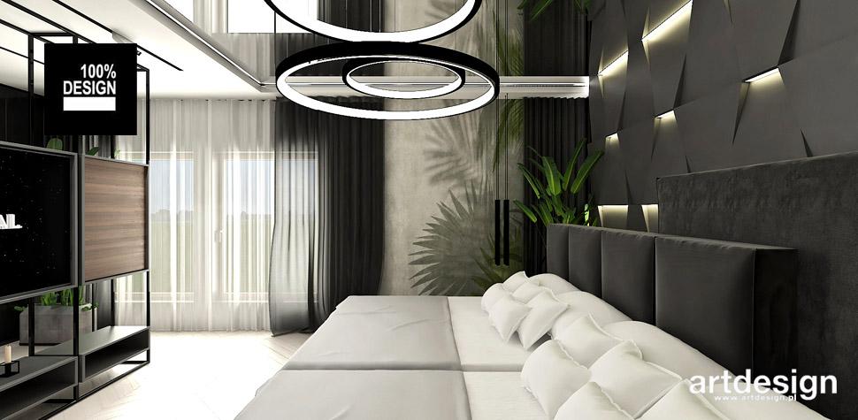 oryginalna aranżacja sypialni