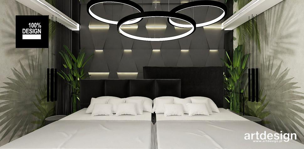 designerska sypialnia projekt
