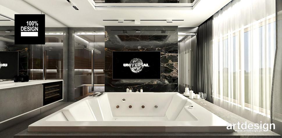 pokój kąpielowy luksusowe wnętrza