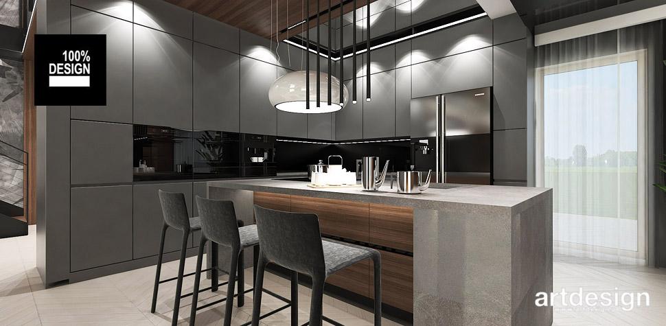 projekty kuchni inspiracje artdesign