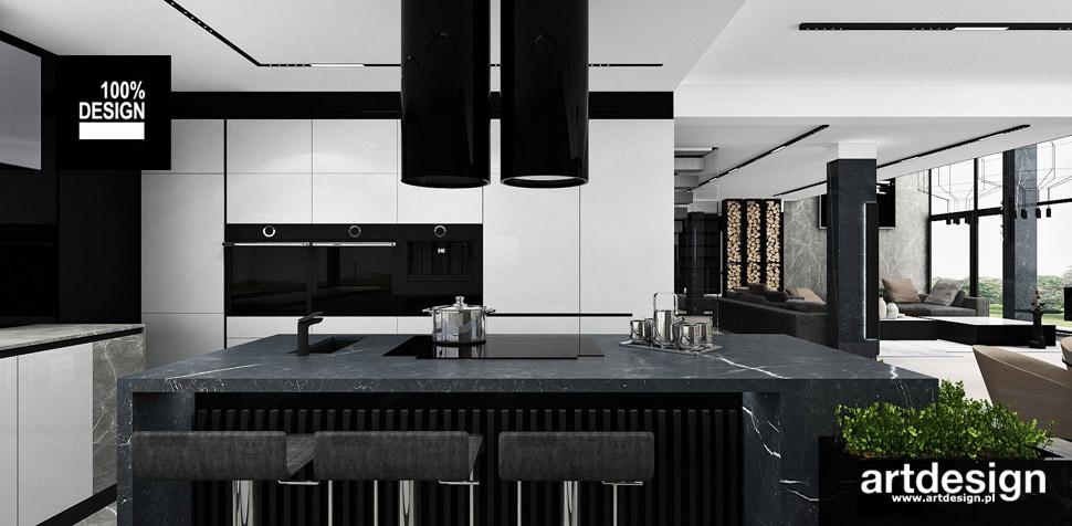 najlepsze projekty kuchni