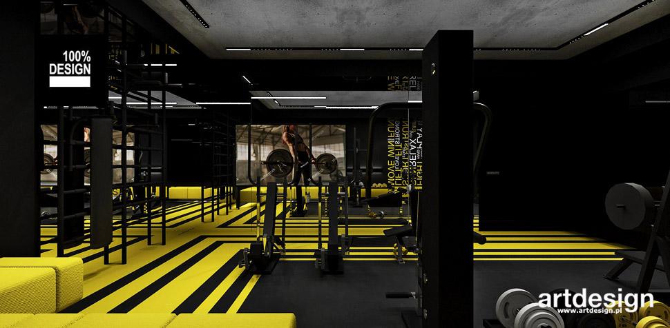 projektowanie sala fitness