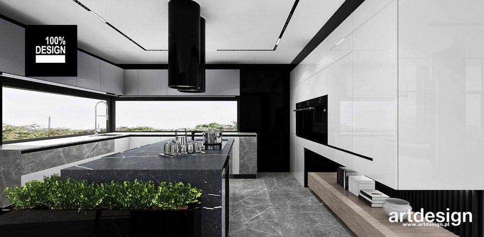 nowoczesne kuchnie inspiracje projekty