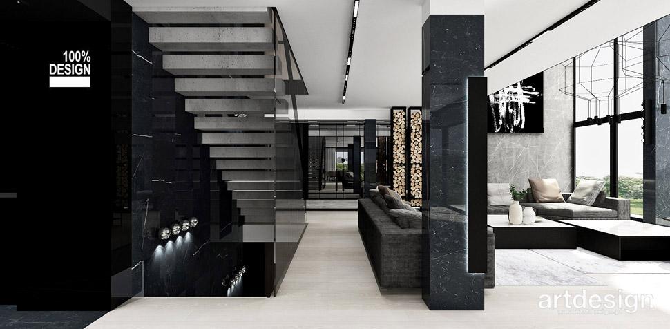 projekty wnętrz domów artdesign