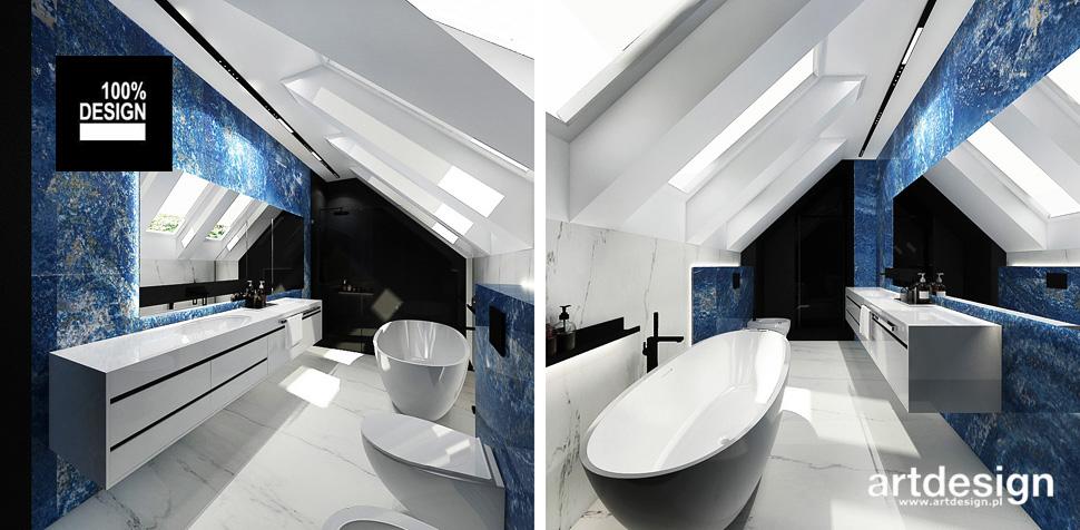 aranżacje łazienek projektowanie wnętrz