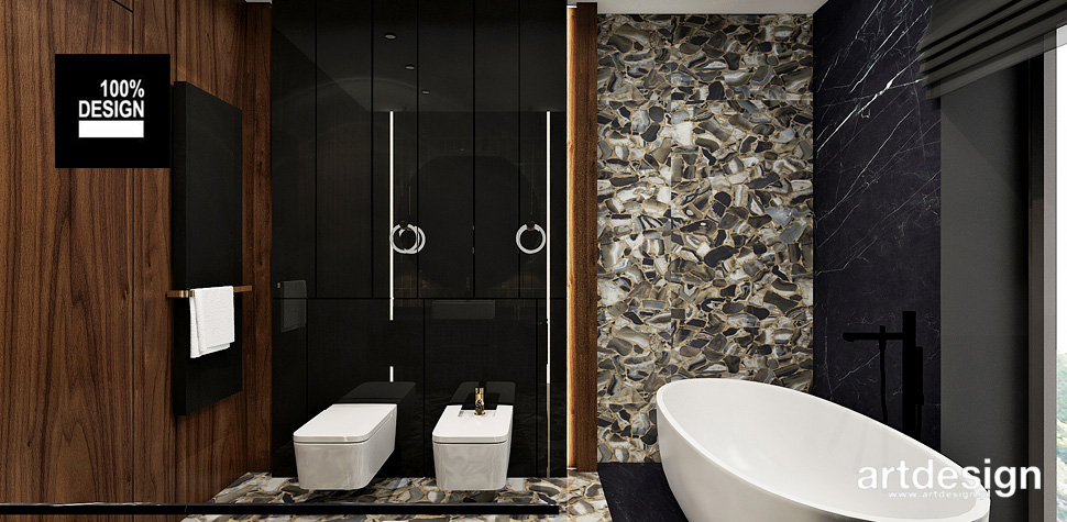 elegancka łazienka styl nowoczesny