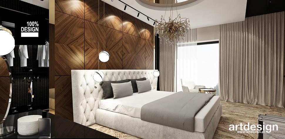 nowoczesna sypialnia aranżacje
