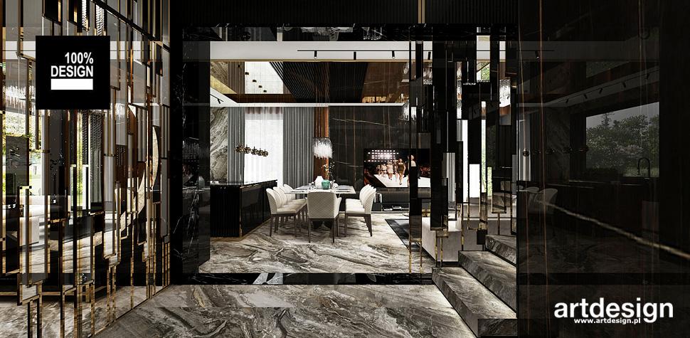 luksusowe wnętrza domów aranżacje