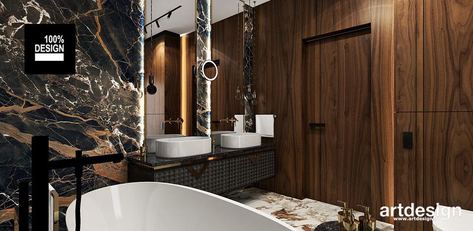 luksusowy design wnętrz łazienka