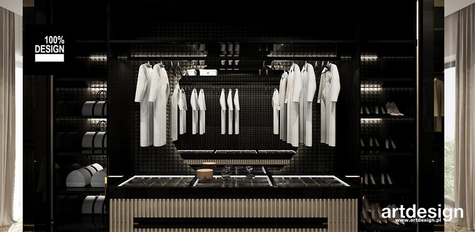 aranżacja garderoba
