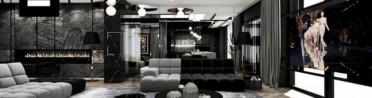 nowoczesny apartament aranżacja wnętrz