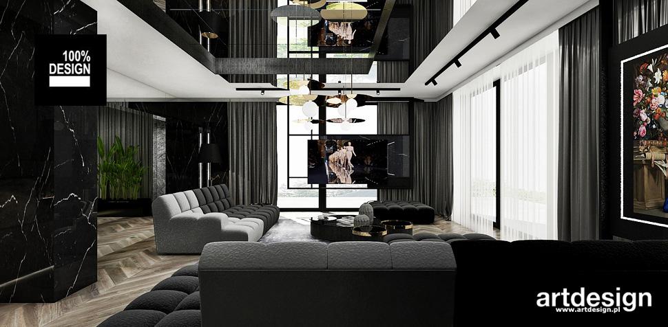 projektant wnętrz apartament dom Kraków