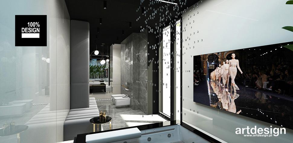 nowoczesna łazienka projekt wnetrza