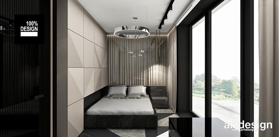 projektowanie wnętrz nowoczesna sypialnia