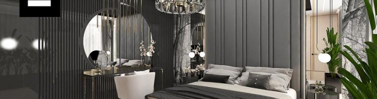 luksusowe aranżacje sypialnia