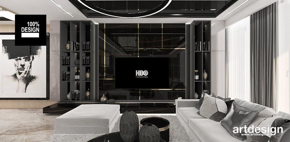 salon wnętrze styl nowoczesny