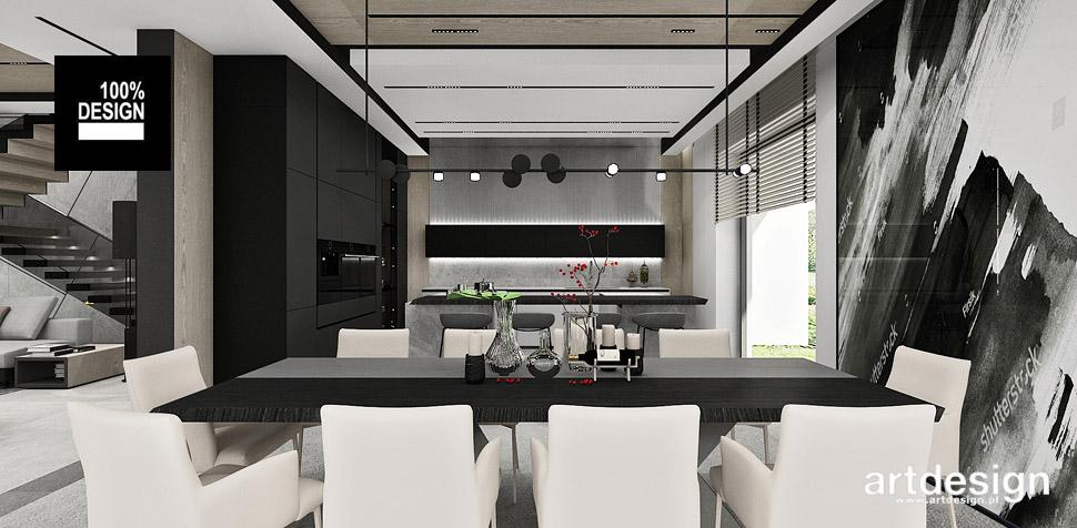 kuchnia jadalnia nowoczesne wnętrza