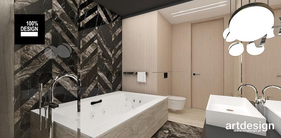 oryginalna łazienka pomysł na wnętrze