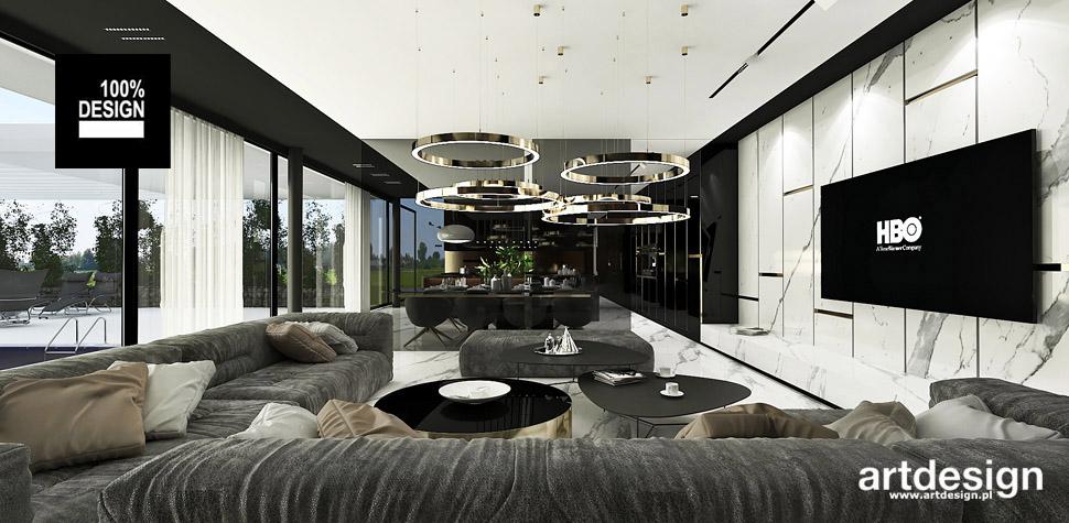 luksusowy dom projektowanie wnętrz
