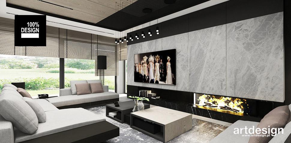nowoczesny dom projekty wnętrz