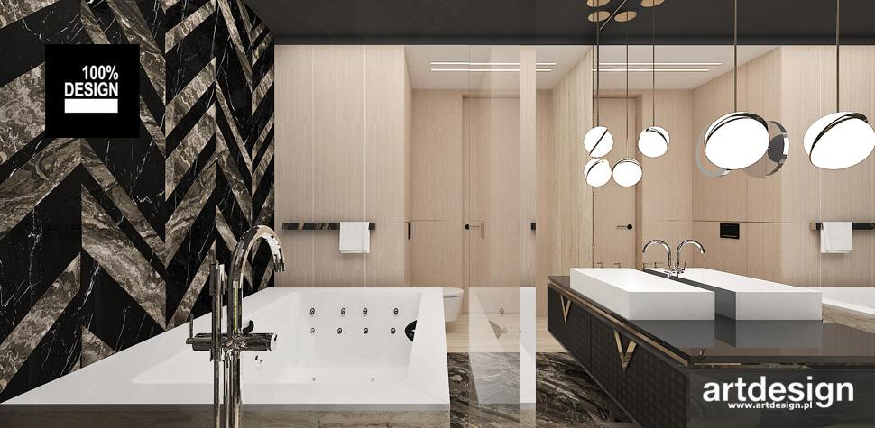 łazienka z dużą wanną inspiracje