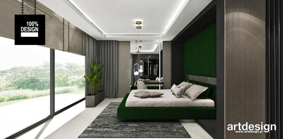 projektant wnętrz dom sypialnia