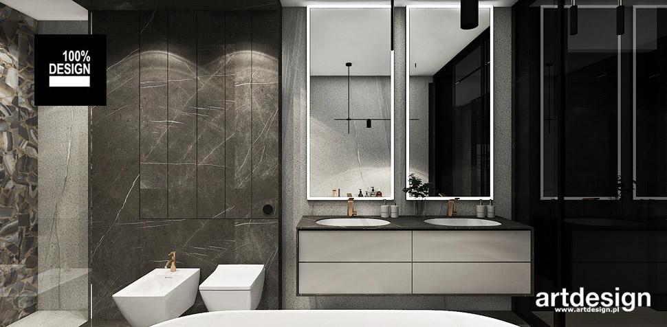 projektowanie wnętrz nowoczesna łazienka