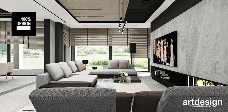 salon dom projektant wnętrz