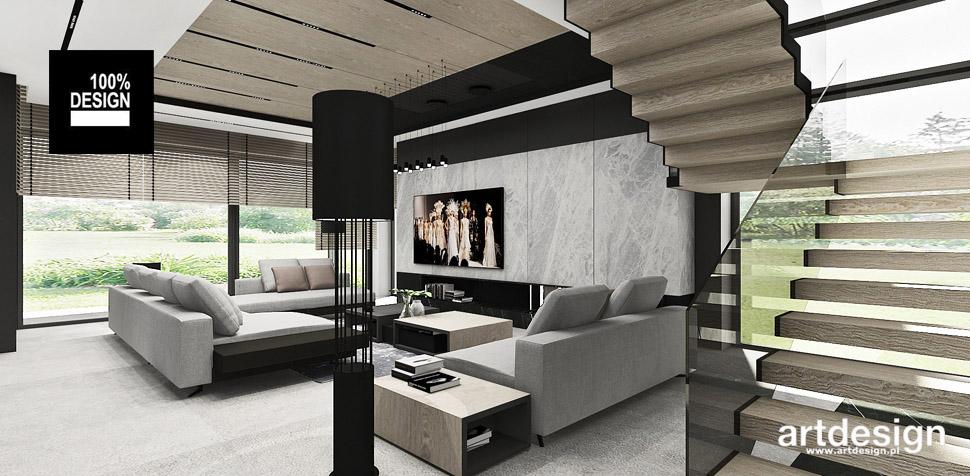 nowoczesne schody projekty wnętrza