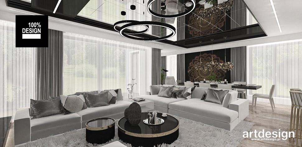 jasne wnętrze salon nowoczesny