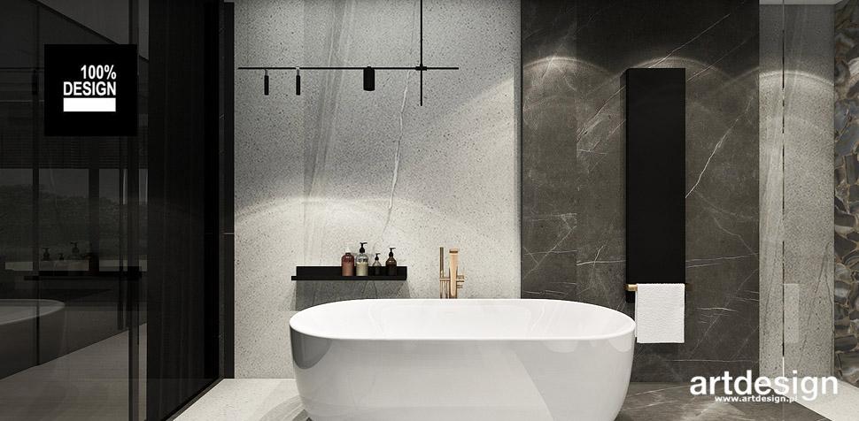 łazienka wnętrze neutralne kolory
