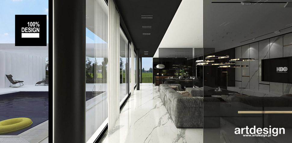 nowoczesny dom luksusowe wnętrza
