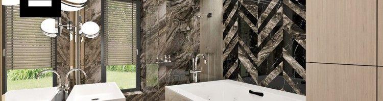 nowoczesna łazienka projektowanie
