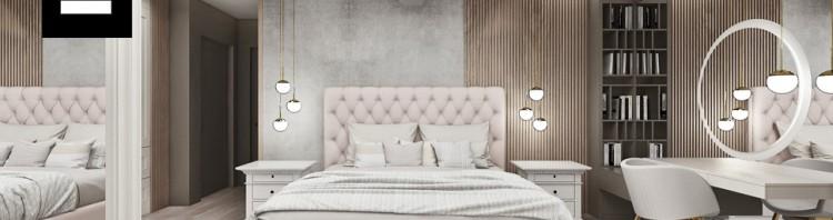 aranżacja przytulnej sypialni drewno