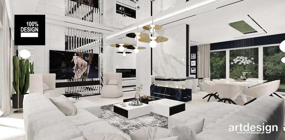 białe wnętrze inspiracje aranżacje