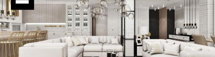 salon mieszkanie projekt