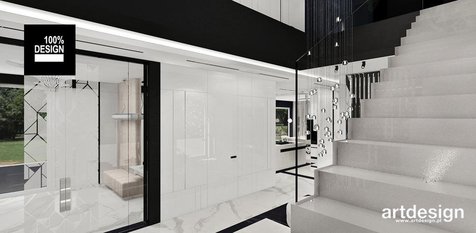 architektura wnętrz dom nowoczesny
