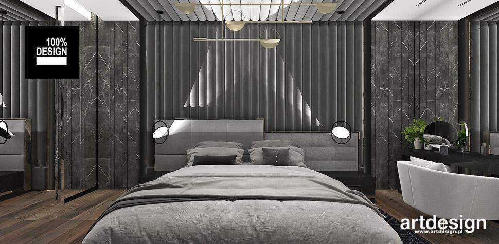 sypialnia projekty wnętrz