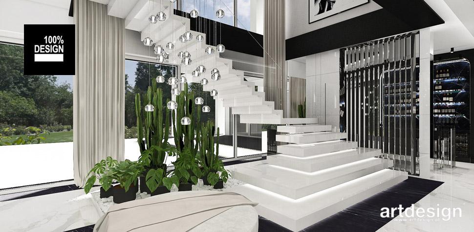 projekt schodów luksusowe wnętrze