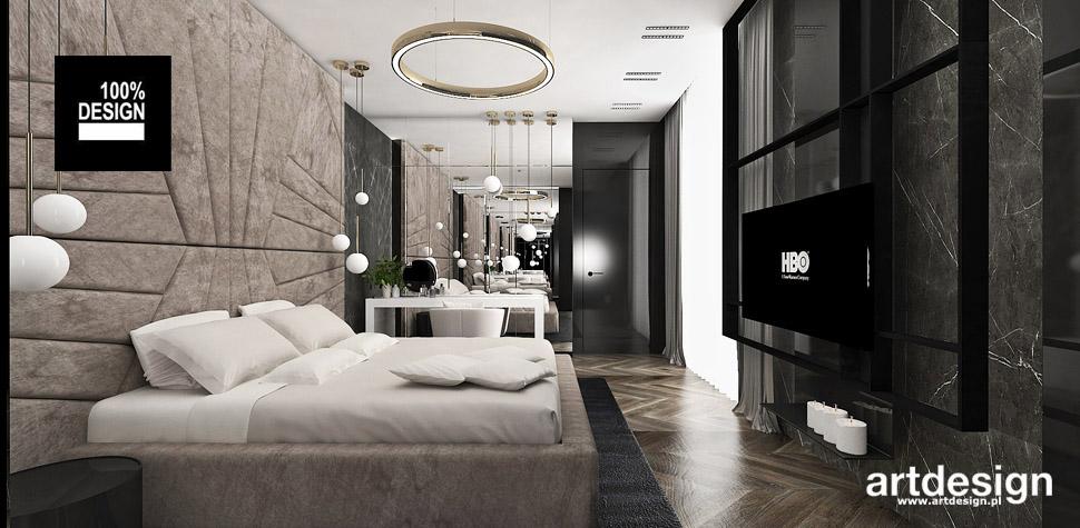 projektowanie projekt sypialnia
