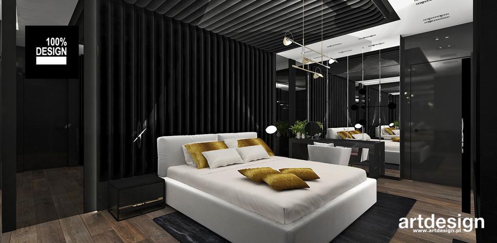 nowoczesna sypialnia design