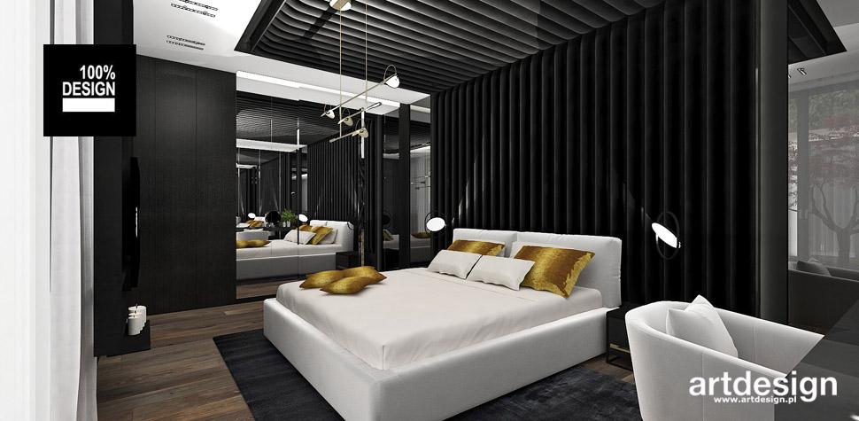 projekt sypialnia wnętrze