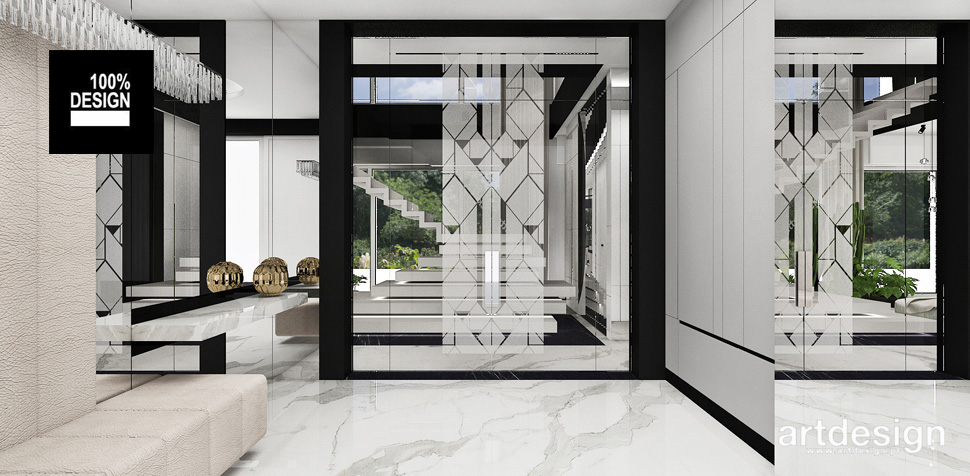 nowoczesne wnętrze luksusowy dom