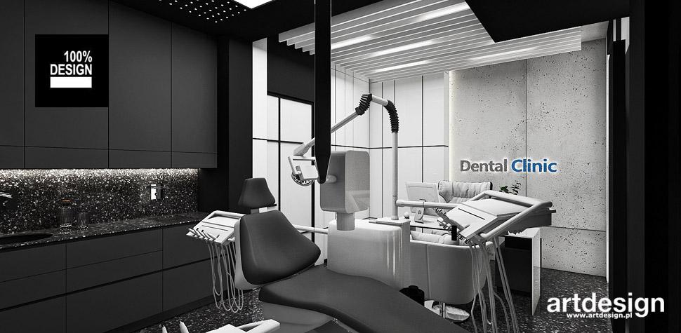 aranżacja wnętrz gabinet stomatologiczny