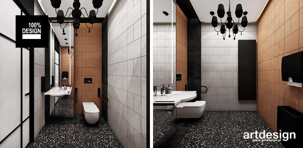 projekt łazienki styl loft
