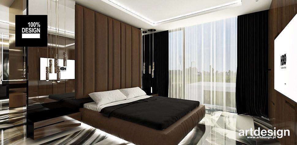 aranżacje sypialni wnętrza