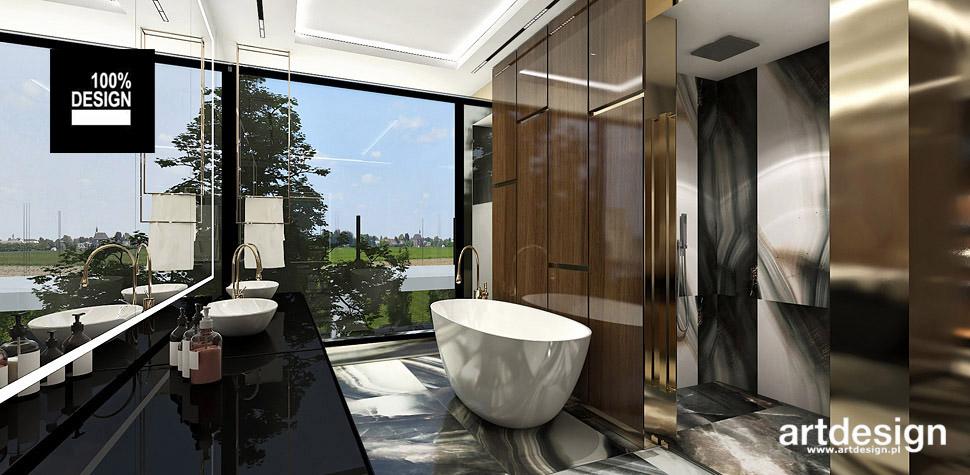 luksusowe wnętrze łazienki