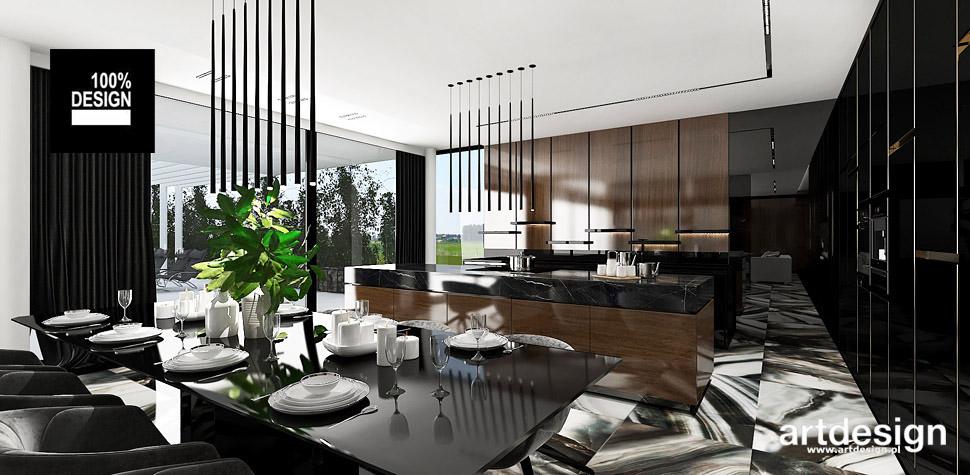 luksusowa kuchnia projekt wnętrz